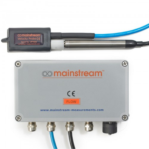 AV-FLOW TRANSMITTER with Velocity and Level Sensor