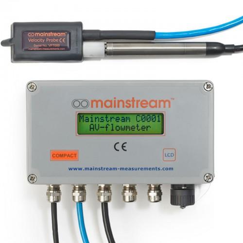 Compact Fixed AV-FlowMeter