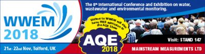 WWEM 2018 – Telford, 21-22 Nov – Wastewater and Environmental Monitoring Conference