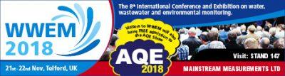 WWEM 2018 – Telford, 21-22 Nov – Wastewater and Environmental Monitoring Conference